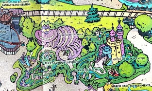 Fun Map Disneyland Paris 2019