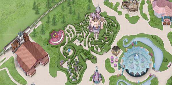 Un Labyrinthe Qui A Du Chat Secrets Disney