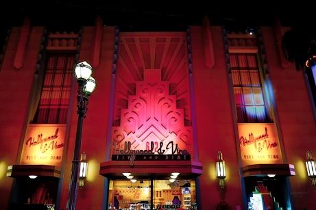 Hollywod & Vine au Parc Walt Disney Studios