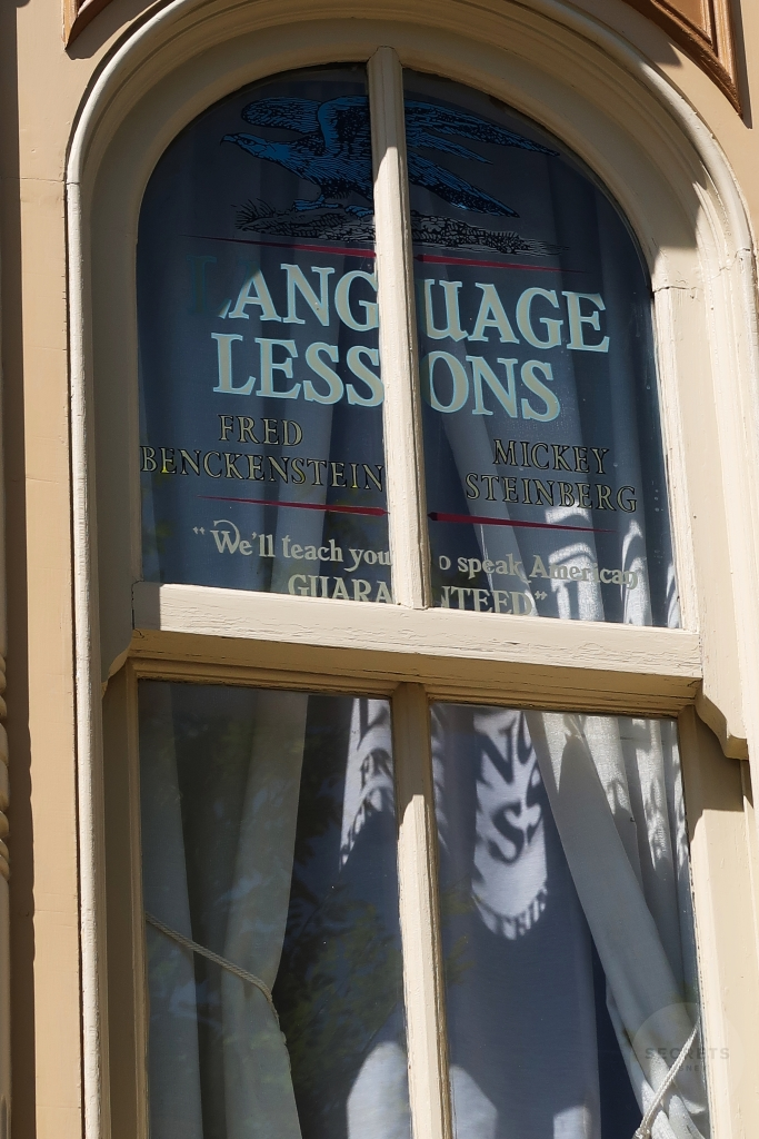 "Language Lessons  Fred Benckenstein  Mickey Steinberg  ""We'll teach you to speak American Guaranteed"""